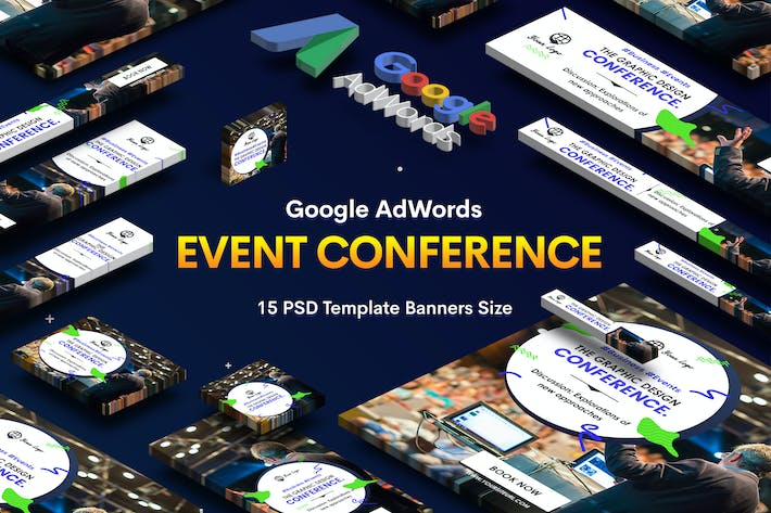 Thumbnail for Event Conference Banners Ad