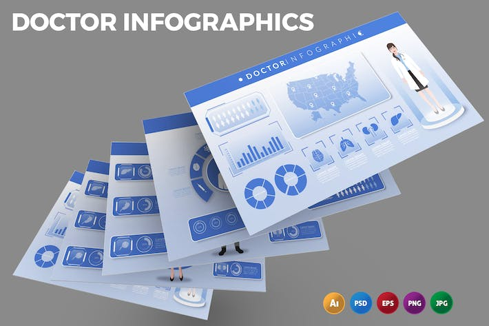 Doctor – Infographics Design