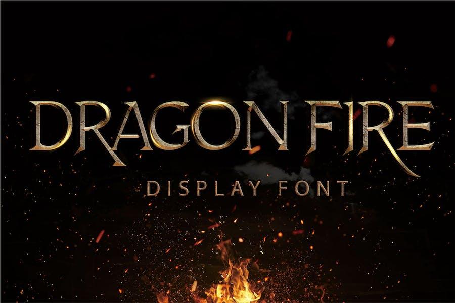Dragon Fire - Display Font