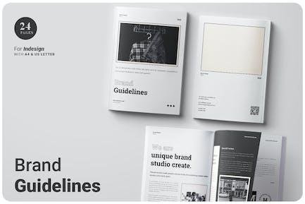 Brand Guidelines Brochure