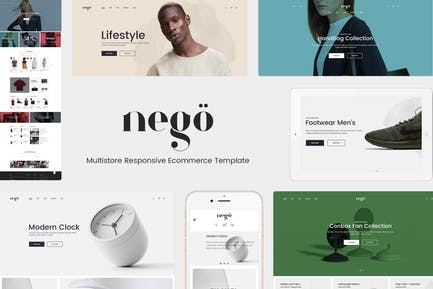 Nego - Minimalist Responsive Opencart 3 Theme