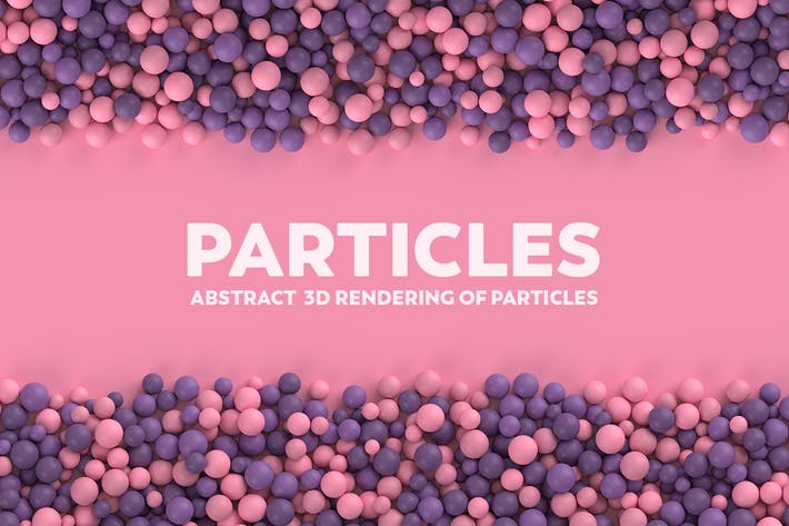 Thumbnail for Abstract 3D Rendering Of Particles