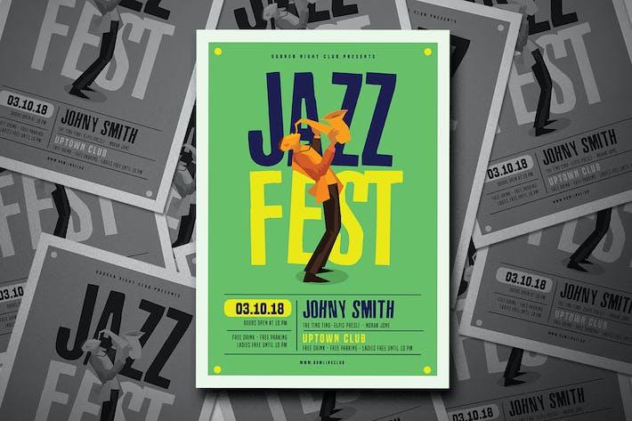 Thumbnail for Jazz Festival Flyer
