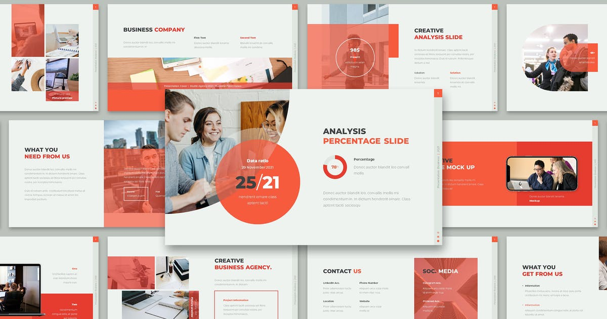 Download AMBER - Business Presentation by celciusdesigns