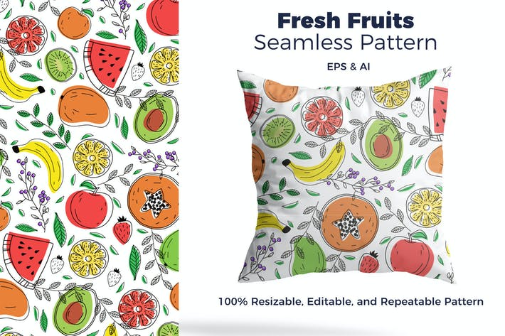 Thumbnail for Fresh Fruit Pattern