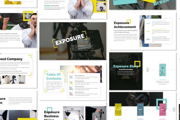Thumbnail for Exposure - Business Template Prensentation