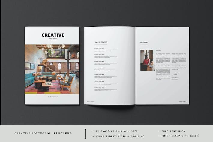A5 Creative Portfolio / Catalogue Template