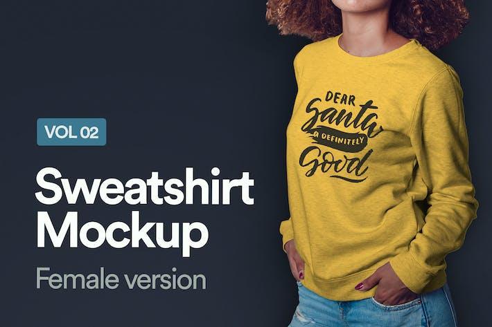 Thumbnail for Sweat-shirt Mockup Vol 02