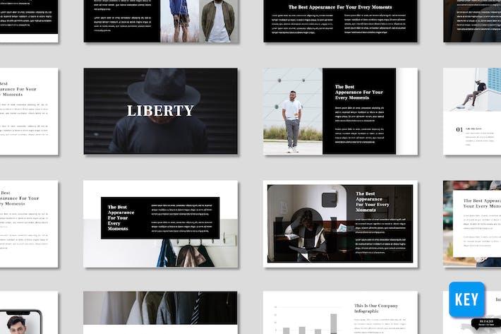 Thumbnail for Либерти Мужчины Мода Презентация - (KEY)
