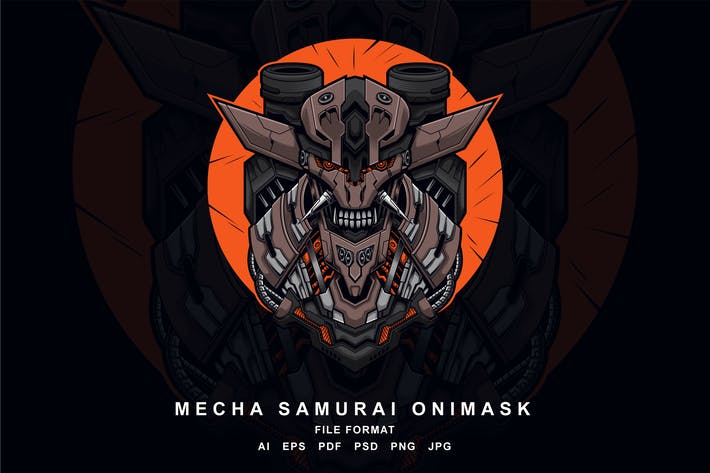 Cover Image For Mecha samurai onimask