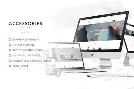 Accessories   Multi Store Responsive HTML Template