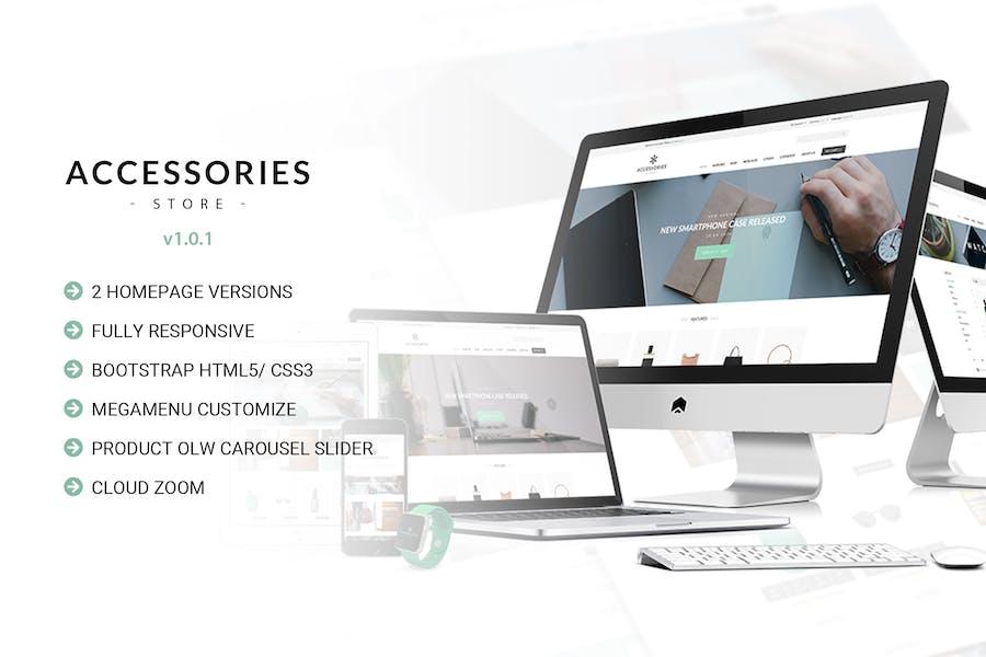 Accessories | Multi Store Responsive HTML Template
