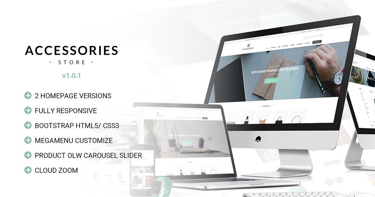 Download Accessories | Multi Store Responsive HTML Template by EngoTheme