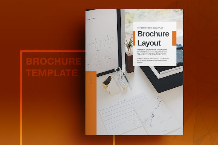 Thumbnail for Orange Business Brochure Layout