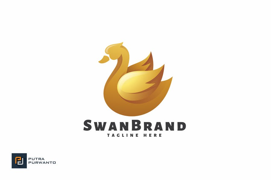 Swan Brand - Logo Template