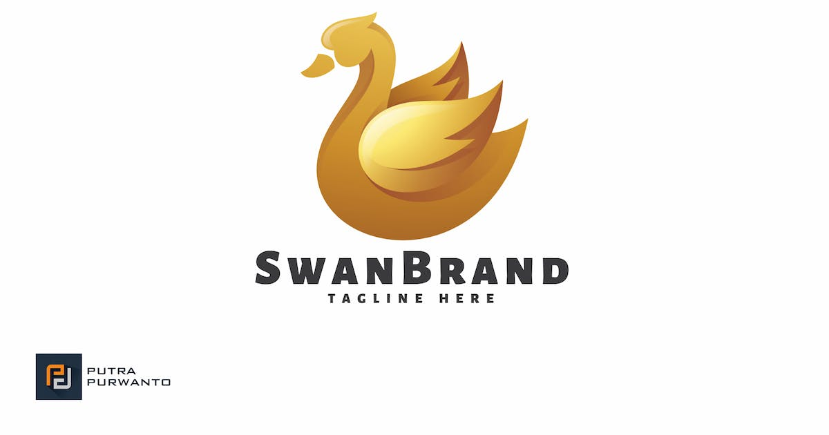 Download Swan Brand - Logo Template by putra_purwanto