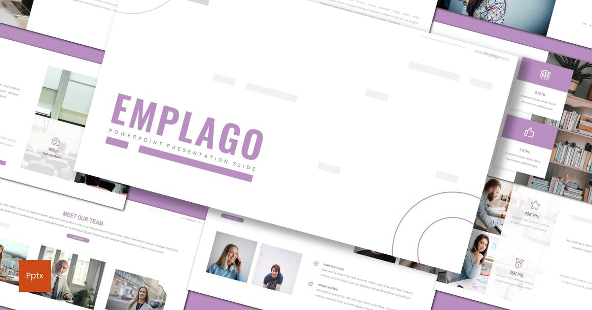 Download Emplago - Minimalist Powerpoint Template by inspirasign