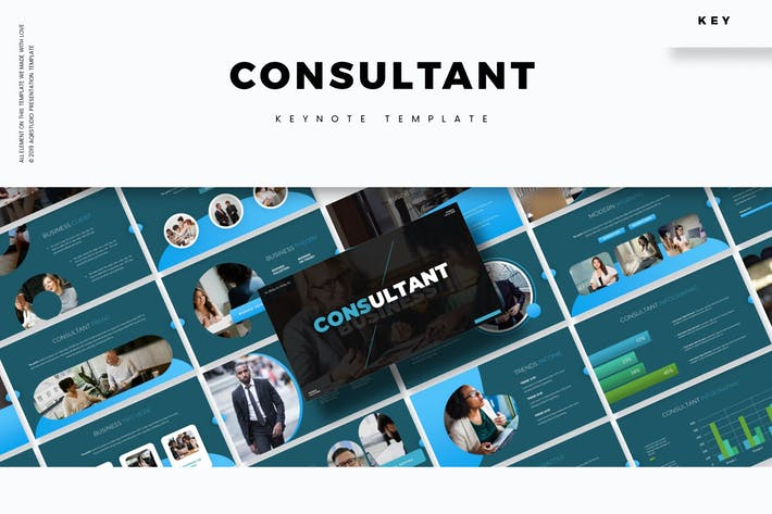 Thumbnail for Consultant - Keynote Template