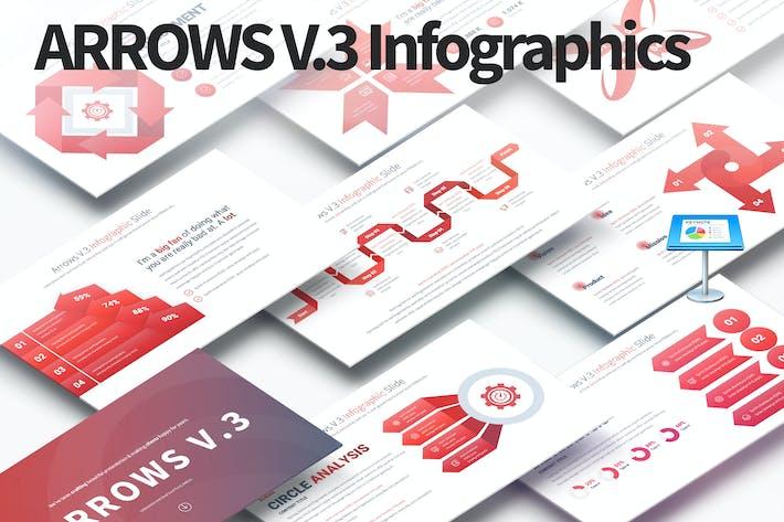 ARROWS V.3 - Keynote Infographics Slides