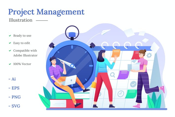 Thumbnail for Project Management Illustration