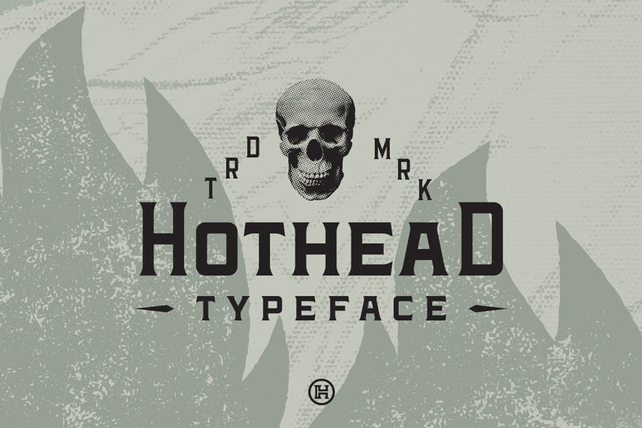Hothead Western Font