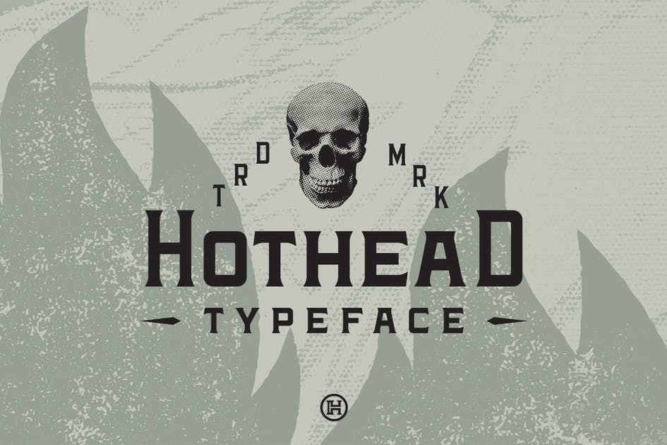 Download Hothead Typeface by Mihis_Design