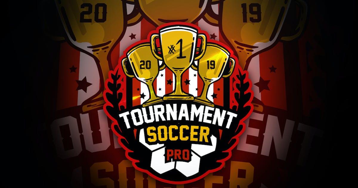 Download Tournament Soccer - Mascot & Esport Logo by aqrstudio