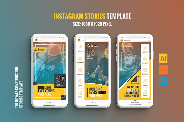 Thumbnail for The Royals - Instagram Stories Template