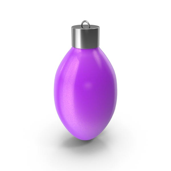 Christmas Tree Bauble Violet