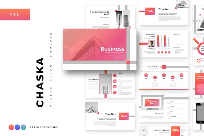 Thumbnail for Chaska Business Google Slides