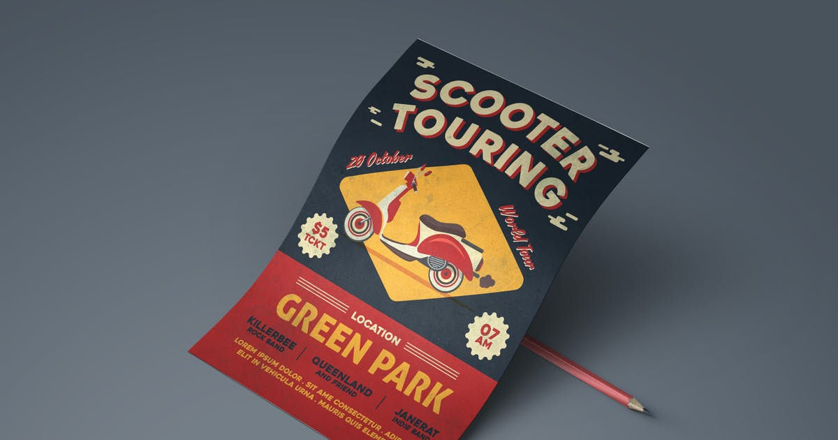 Download Scooter Tour Flyer by Unknow