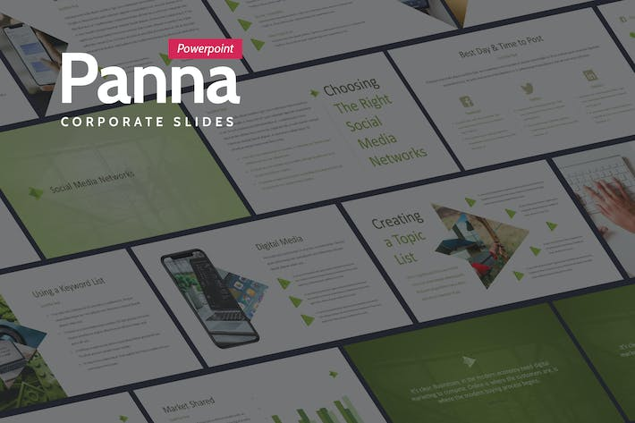 Thumbnail for Panna - Fresh and Simple Powerpoint