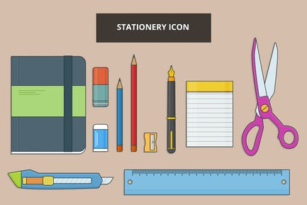 Stationery Outline Icon