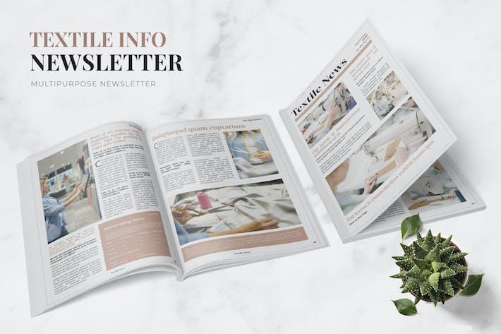 Thumbnail for Textile Info Newsletter