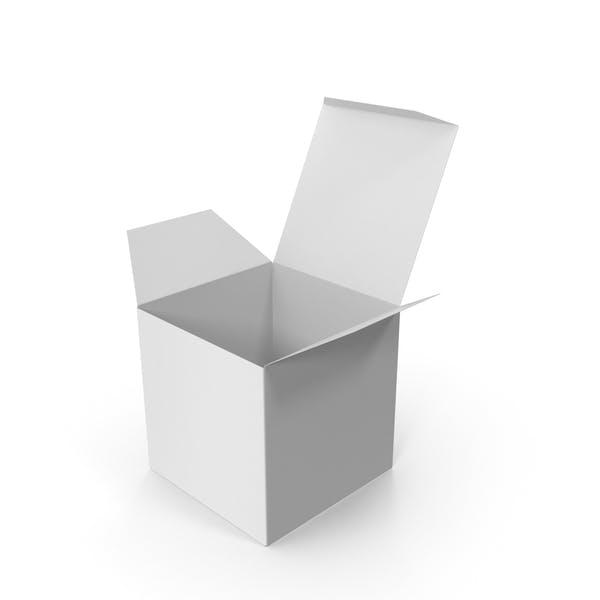 Thumbnail for Белая квадратная упаковочная коробка