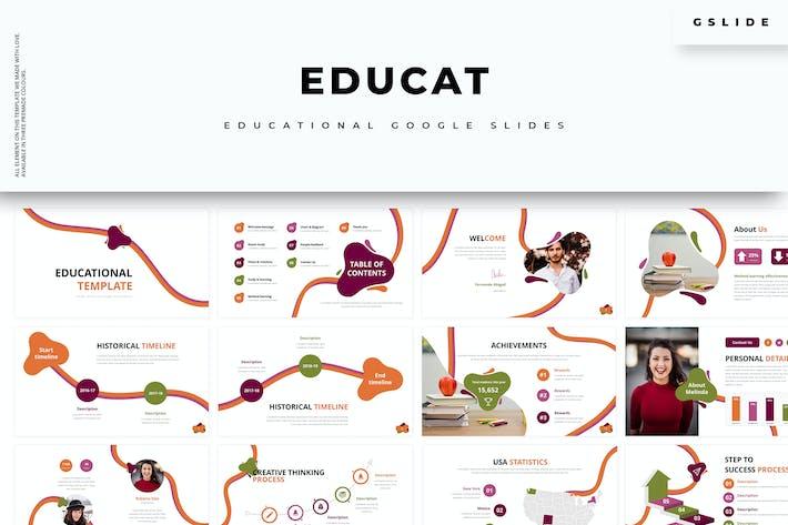 Thumbnail for Educat :: Education Google Slides
