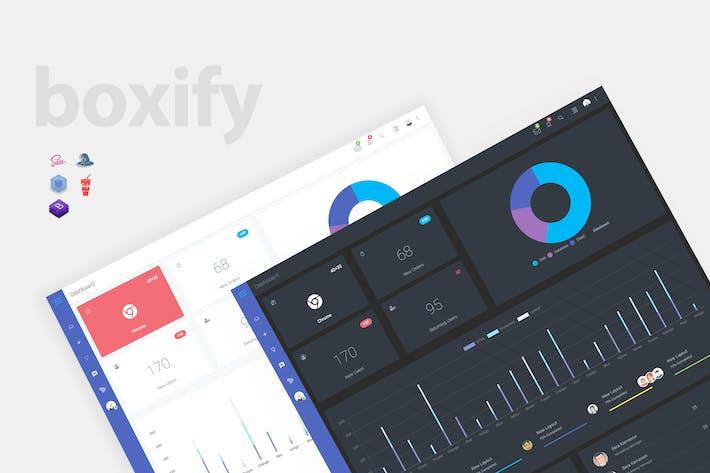 Thumbnail for Boxify - Bootstrap 4 Панель администратора