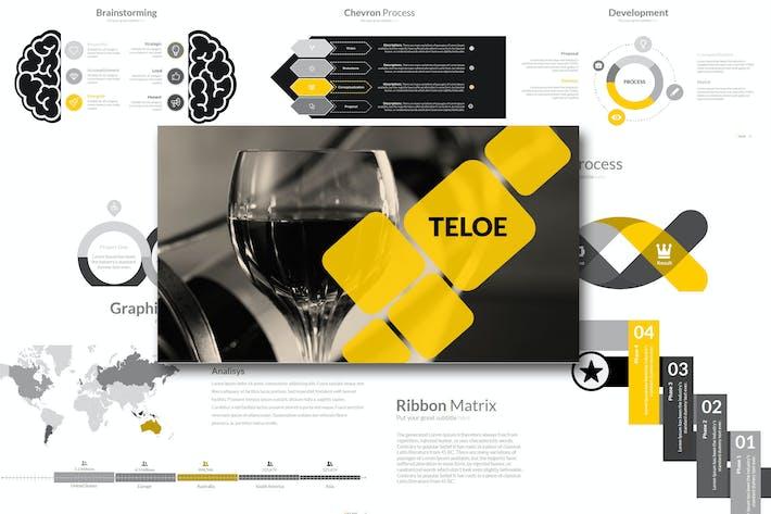 Thumbnail for Teloe - Powerpoint Template