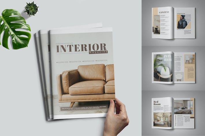 Thumbnail for Interior Magazin-Vorlage