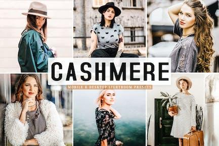 Cashmere Mobile & Desktop Lightroom Presets