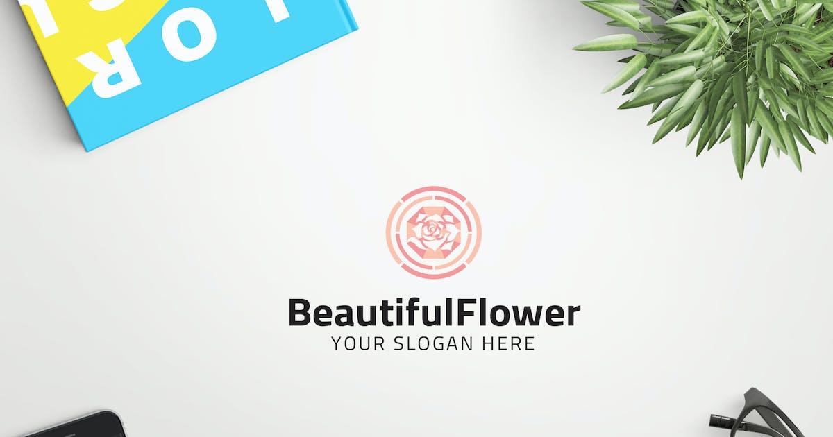 BeautifulFlower professional logo by ovozdigital
