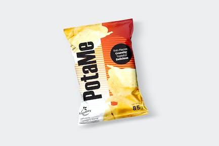Potato Chips Design Template