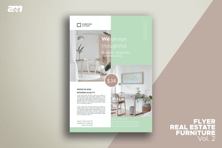 Cover Image For Flyer Real Estate Furniture Vol.2