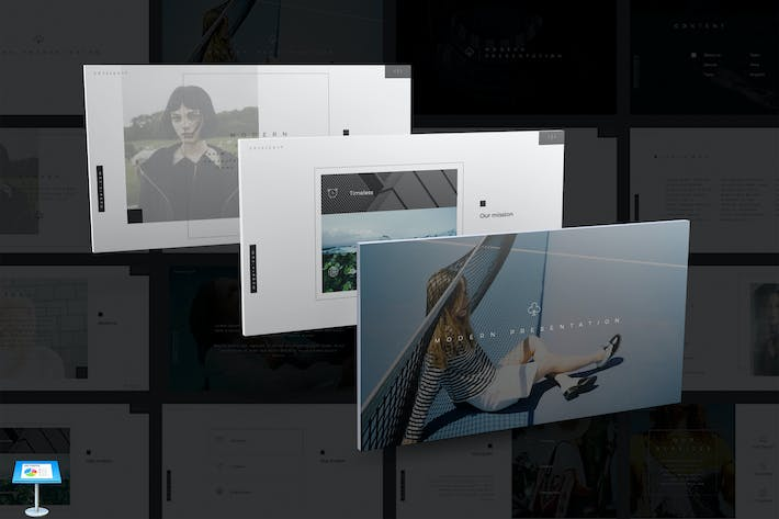 Thumbnail for Modern Keynote Template