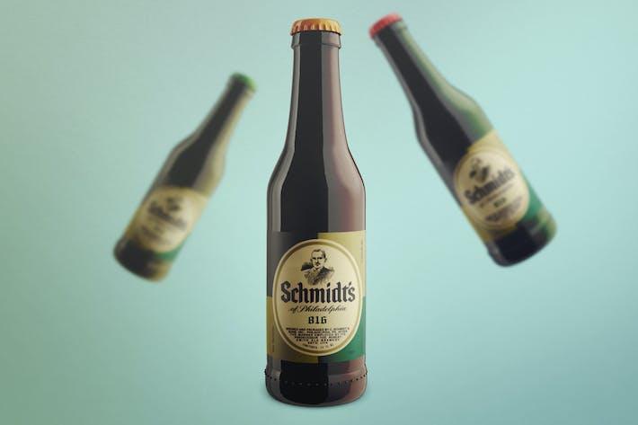 Thumbnail for Realistische Bierflasche Mock-Up Vorlage