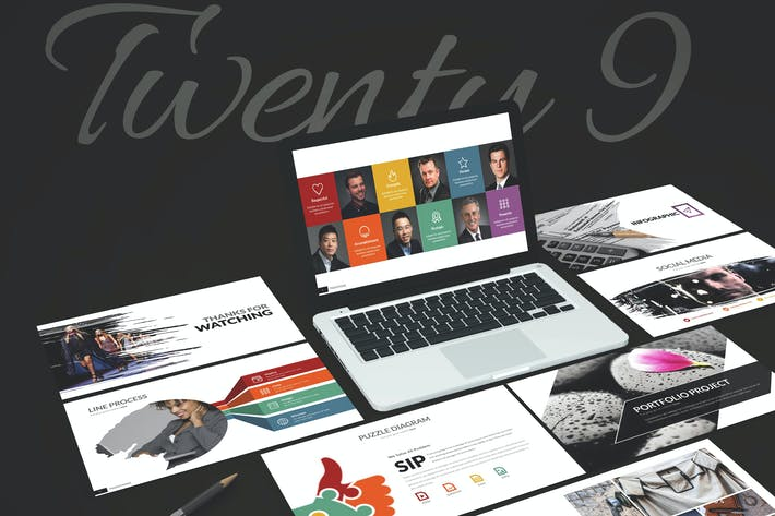Thumbnail for Twenty Nine - Powerpoint Template