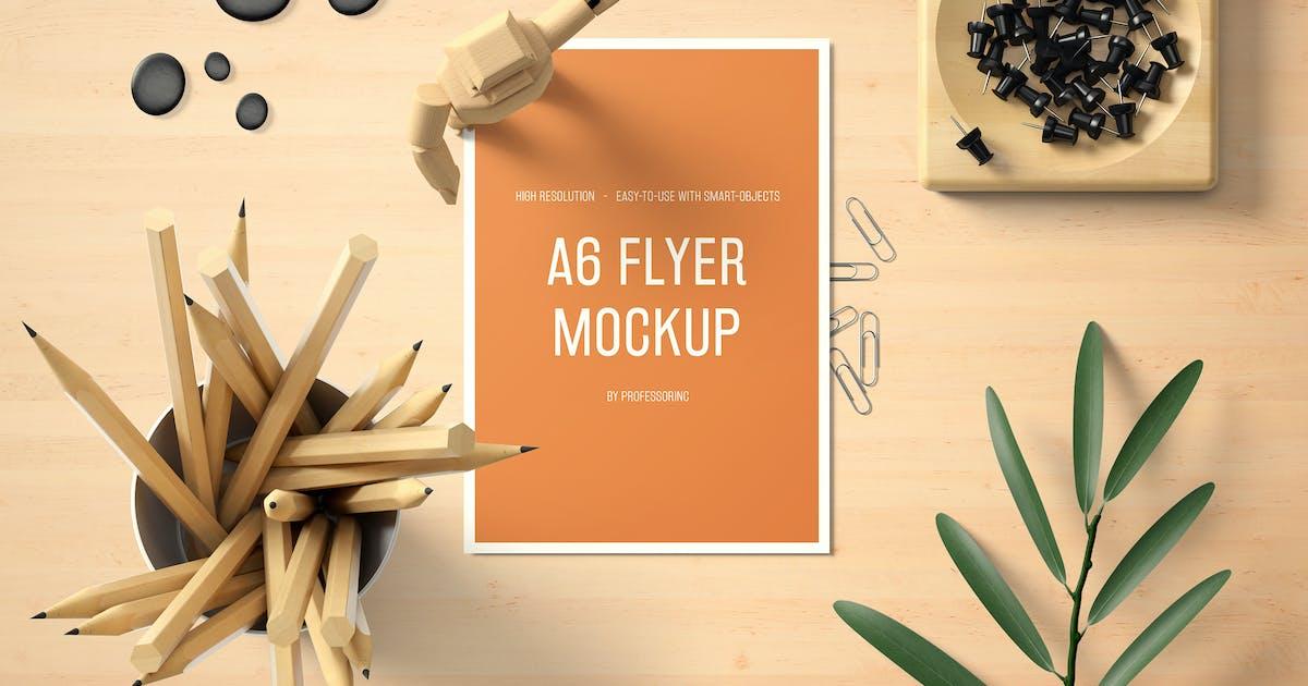 Download A6 Portrait Flyer Mockup Set 2 by professorinc