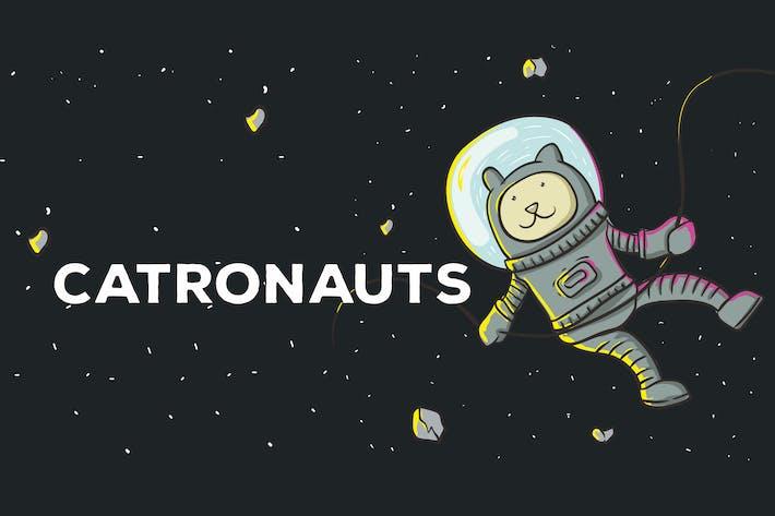 Thumbnail for Catronauts Vector Illustration