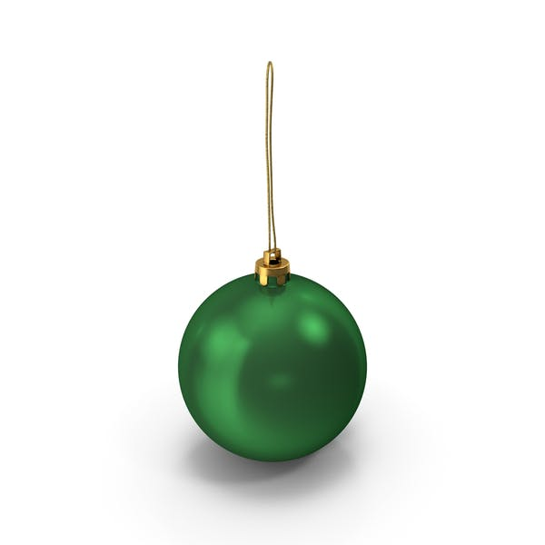 Thumbnail for Green Christmas Ball Ornament