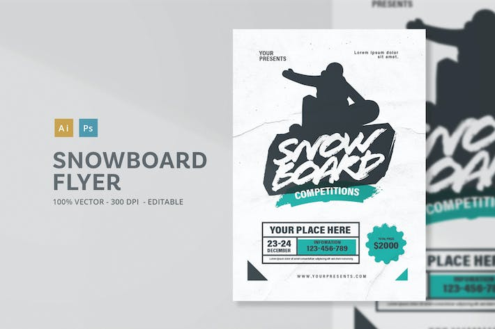 Thumbnail for Snowboard Flyer